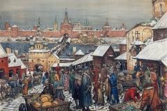 Торг в Нижнем Новгороде. 1908-1913