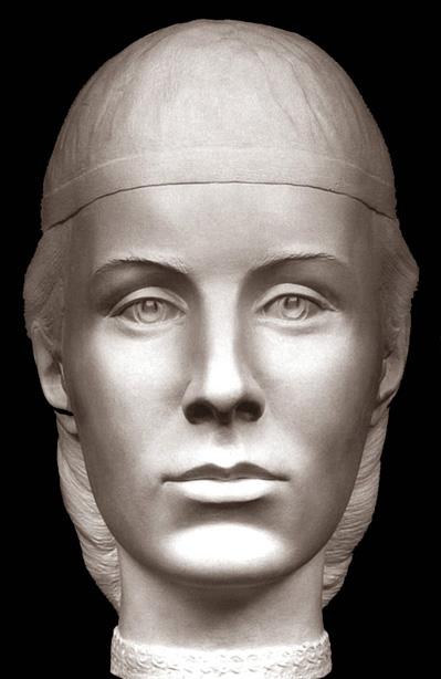 Елена Глинская Реконструкция по черепу, С. Никитин, 1999 г.